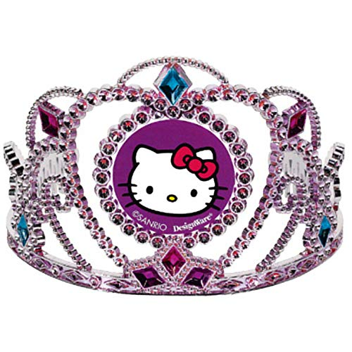 Electroplated Tiara | Hello Kitty Rainbow Collection | Party Accessory | 6 Ct.