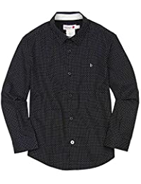 Boboli Boys Dress Shirt in Small Dot, Sizes 4-16