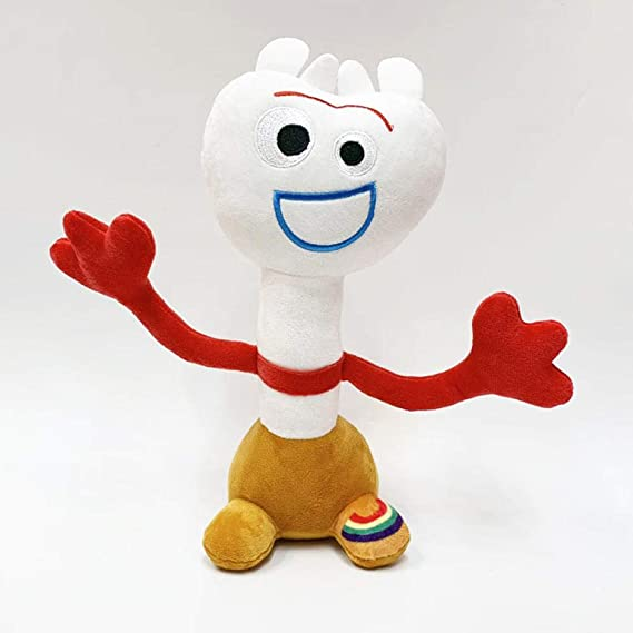 TTUIE 1Pcs 25Cm Toy Story 4 Forky Peluches Muñeca Peluches ...