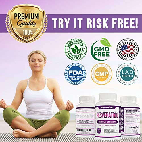 51Dl3v%2BhJDL - Premium Resveratrol Supplement 1500mg - Max Strength Potent Antioxidant, Trans Resveratrol Capsules for Heart Health, Anti-Aging, Immune Health - with Grape Seed & Green Tea Extract - 30 Days Supply
