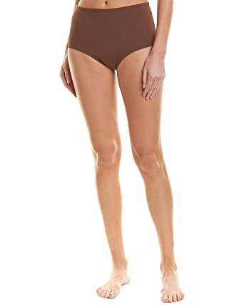 c84e2a9306 LSpace Women's Color Block Reversible High Waist Bikini Bottom Chocolate  XS. Roll over image to zoom in. L*Space