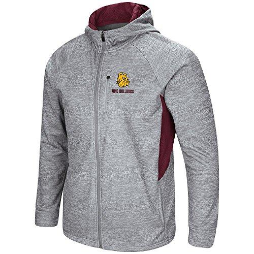 Colosseum Mens Minnesota Duluth Bulldogs Full Zip Jacket - M Colosseum Full Zip Jacket