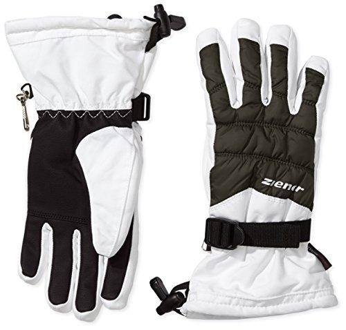 Ziener Damen Skihandschuhe Kos AS Glove Lady, White, 7, 991162