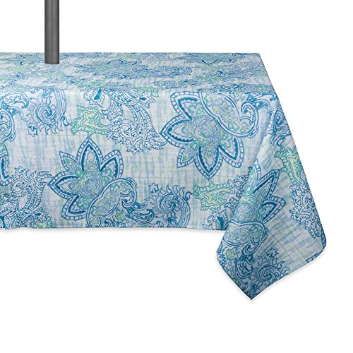 Cheap  DII Spring & Summer Outdoor Tablecloth, Spill Proof and Waterproof with Zipper..