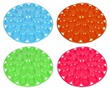Includes 4 Deviled Egg 12'' Diameter Presence Serving Trays! Perfect for Any Party or Social Gathering! Includes Blue, Green, Magenta, and Orange!