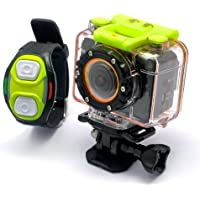 HD 1080P Waterproof Portable Mini Wifi Wireless Sports Action Camera Camcorder with Remove Control Wrist Strap and a Free 8GB Memory Card