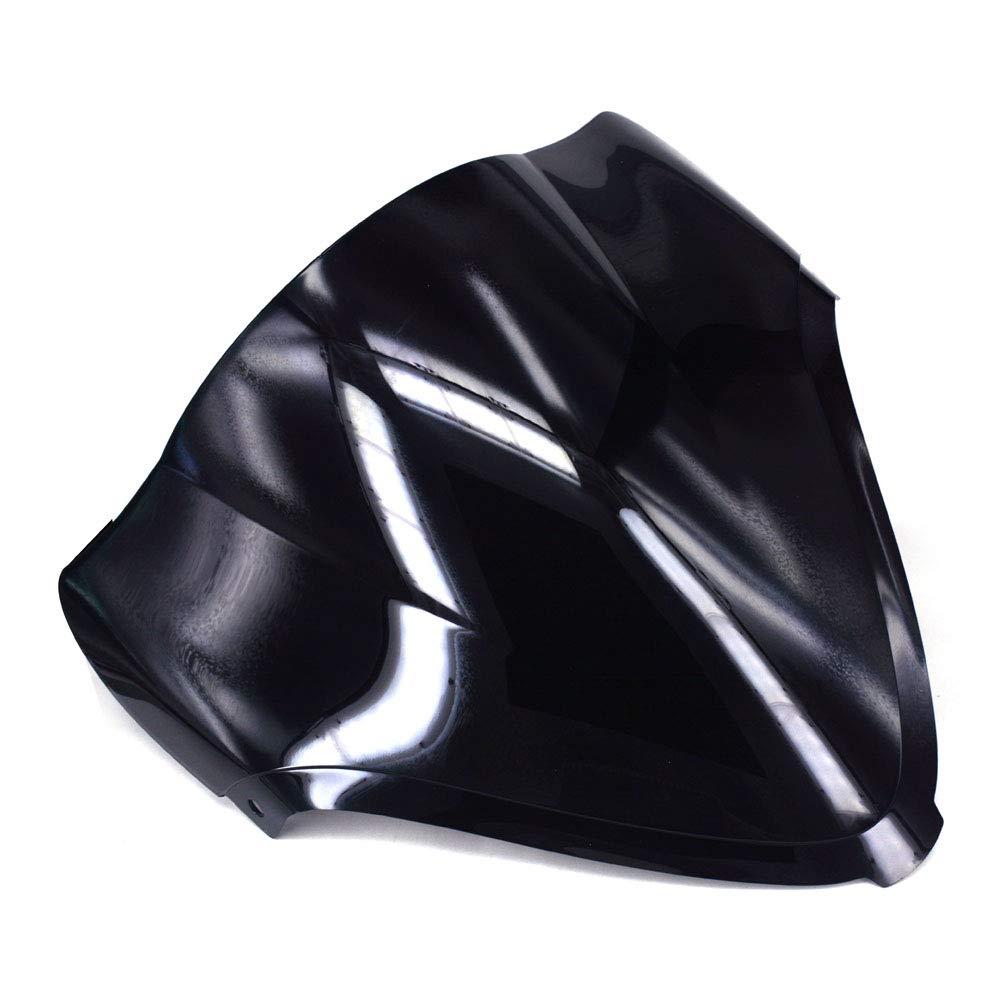 Motorcycle Black Windscreen Windshield Protector Guard Double Bubble For Suzuki SV650 SV650S 2003-2012 SV1000 SV1000S 2003-2008