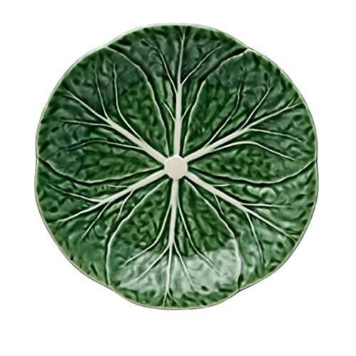 "Bordallo Pinheiro Cabbage Dessert Plate, 7.5"""