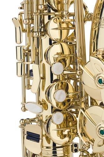 Jean Baptiste 290AL Eb Alto Student Saxophone, Yellow Brass