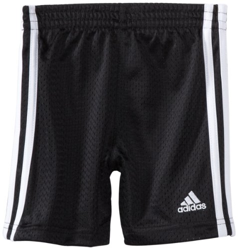 adidas Little Boy's Active Mesh Short, Black, ()