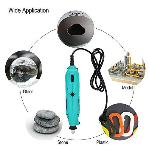 qiangzhongzhedianzichanpin Mini Electric Drill Grinder Rotary Tool Kit Variable Speed /â/€/‹/â/€/‹Engraving Polieren