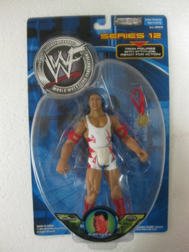 VERY RARE WWF Series 12 Tron Ready With Attitude Kurt Angle by Jakks Pacific 2001 - Wwe Action Figures 2001