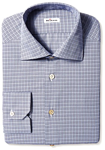 kiton-mens-gingham-dress-shirt-grey-40-us