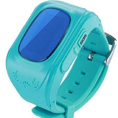 Qonei Smart Watch para niños/Posicionamiento GPS SOS ...