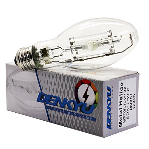 MP70/U/4K/EDX17 70W Metal Halide Protected Lamp M98 Med Bulb (10425) ()