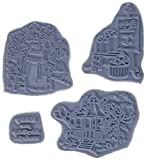 Art Impressions Try'folds Cling Rubber Stamp, 9 by 4.5-Inch, Gazebo