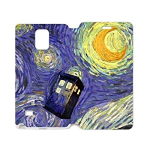 Fashion Tardis Doctor Who Samsung Galaxy Note4 Cell Phone Cases Cover Popular Gifts