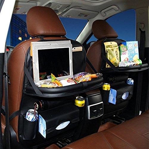 back seat car organizer with tray - 9