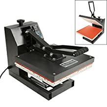 "Tengchang 15"" x 15"" LCD Clamshell Digital Heat Press Machine T-Shirt Transfer Sublimation"