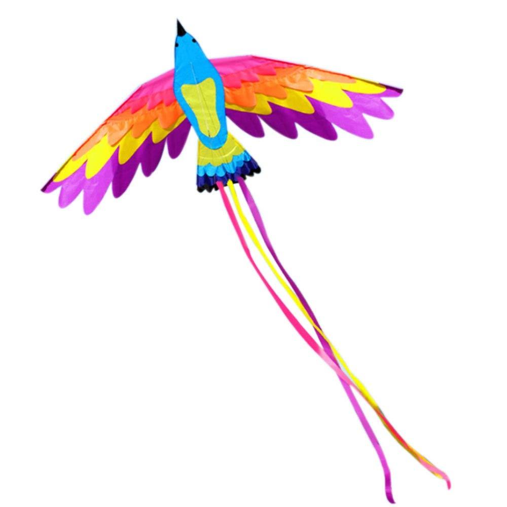 おもちゃ カイトカラフルな鳥フェニックスカイト大人子供大凧ワイヤーホイール180センチ E* B07NWKZSVJ 90センチ尾の長さ150センチ h) 飛ぶのが簡単 (色 : H h) B07NWKZSVJ E E, ナワチョウ:7f4d7533 --- ferraridentalclinic.com.lb