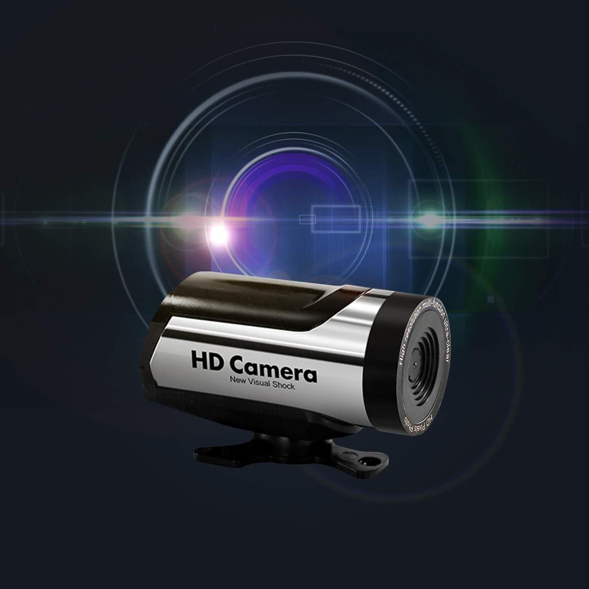 Maxtroinc WiFi Voiture RC camé ra 720P HD camé ra Surveillance en Temps ré el Soutien iOS systè me Android (Noir)