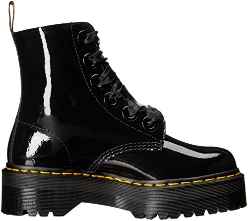 Dr.Martens Molly Patent Lamber Black Patent Womens Boots Schwarz