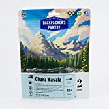 vegan dehydrated food - Backpacker's Pantry Chana Masala Two Serving Pouch, (Packaging May Vary)​