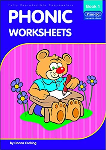 Workbook free phonics worksheets : Phonic Worksheets: Bk. 1: Donna Cocking: 9781864001242: Amazon.com ...