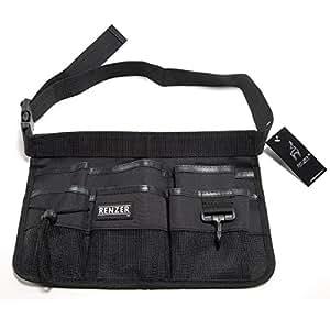 RENZER Heavy Duty Oxford Tool Apron With Waist Belt 7 Pockets