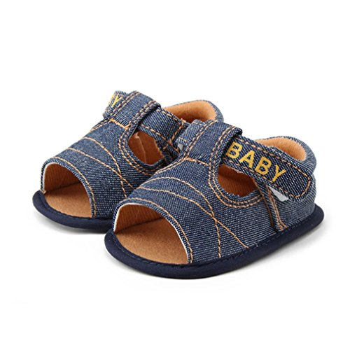 Saingace Neugeborene Baby-Säuglingskind-Mädchen-Jungen-weiche alleinige Krippe-Kleinkind-Sandelholz-Schuhe