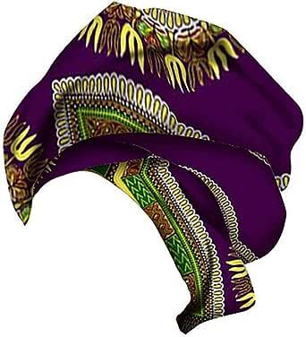 Xinvivion Pañuelo de Estampado de Algodón de cera Africana para ...
