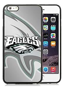 DIY Custom Phone Case For iPhone 6plus Philadelphia Eagles 4 Black Phone Case For iPhone 6 5.5 Inch Cover Case