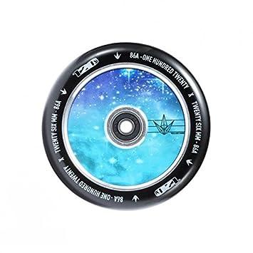 Rueda Blunt para patinete de 120 mm, Galaxia: Amazon.es ...