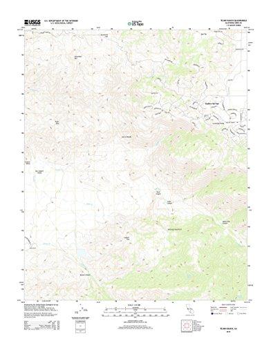 Topographic Map Poster - TEJON RANCH, CA TNM GEOPDF 7.5X7.5 GRID 24000-SCALE TM 2012 16