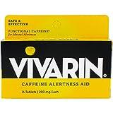 Vivarin Brand Alertness Aid, 16 tablets per box (Pack of 6 boxes)
