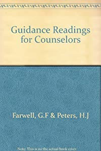 Hardcover Guidance Readings for Counselors Book