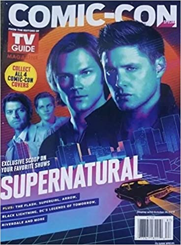 Comic Con Magazine 2018 Tv Guide Special Supernatural Cover Various