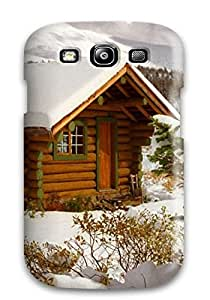 Fashion Tpu Case For Galaxy S3- Snow S Defender Case Cover