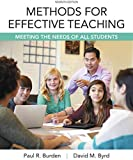 img - for Methods for Effective Teaching: Meeting the Needs of All Students, Enhanced Pearson eText with Loose-Leaf Version -- Access Card Package (7th Edition) book / textbook / text book