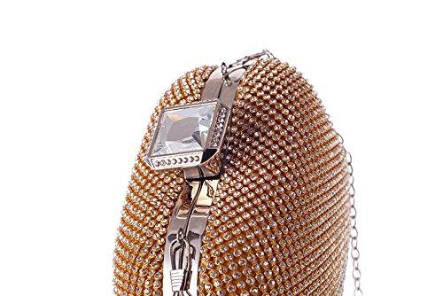 Women's Bag Fashion Gold Party Bag New Hand bag Dinner evening Women's Bag Fly q0SwFIX