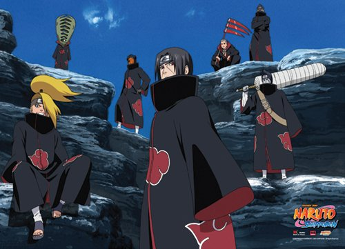 Great Eastern Entertainment Naruto Shippuden 7 Atkatsuki Wal