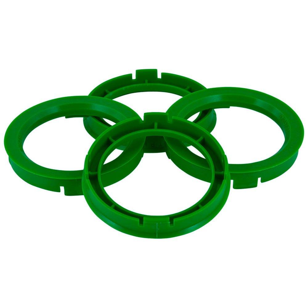 Set mozzo ruota TPI –  Anelli 73.0- > 57.1 mm, colore: verde BX7305710-4