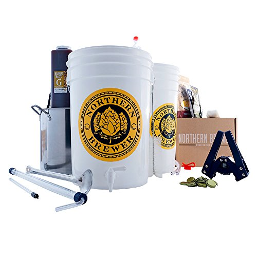 Brew. Share. Enjoy. Homebrew 5 Gallon Beer Brewing Starter Kit with Chinook IPA Beer Recipe Kit and Brew Kettle by Northern Brewer (Image #8)