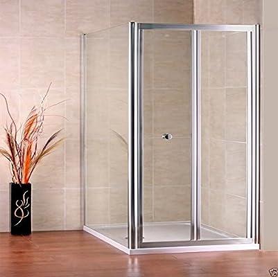 700 x 700 mm mampara de ducha pantalla de cristal puerta del ...