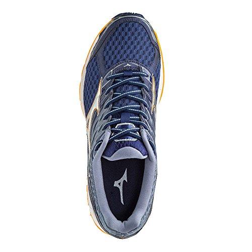 Wave Navy Paradox Homme Chaussures Blue 4 Mizuno Running de aBqZn
