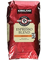 Kirkland Signature Starbucks Espresso Blend Dark Roast Whole Bean Coffee, 32 Ounce