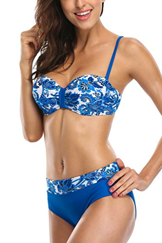 ALove Underwired Bathing Bandeau Swimsuit product image