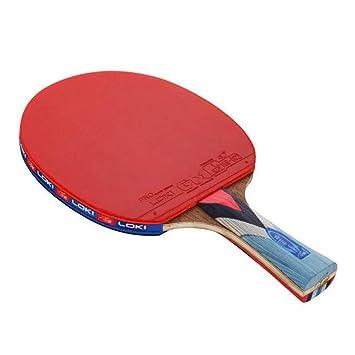 KUANDARPP Raqueta De Tenis De Mesa Ping Pong La Madera ...