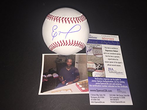 Eloy Jimenez Chicago White Sox Autographed Signed Baseball MLB JSA COA ()