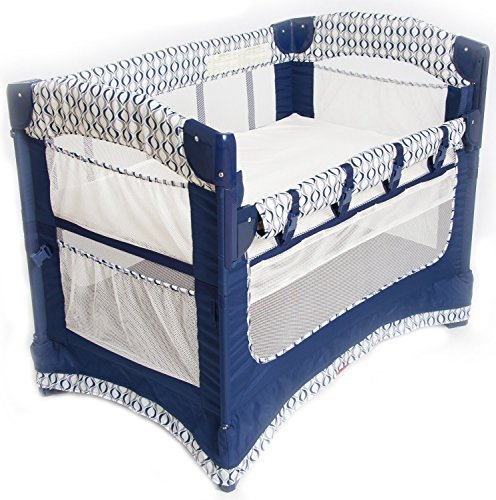 Review Arm's Reach Concepts Ideal Ezee 3-in-1 Bedside Bassinet - Crescent